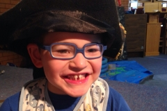 Pirate Alfie Age 6